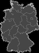 kostenlose vektorgrafik deutschland bundesl nder kostenloses bild auf pixabay 1196559. Black Bedroom Furniture Sets. Home Design Ideas