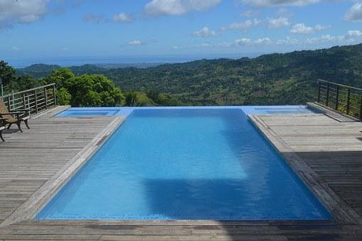 Pool, View, Swimming, Water, Blue