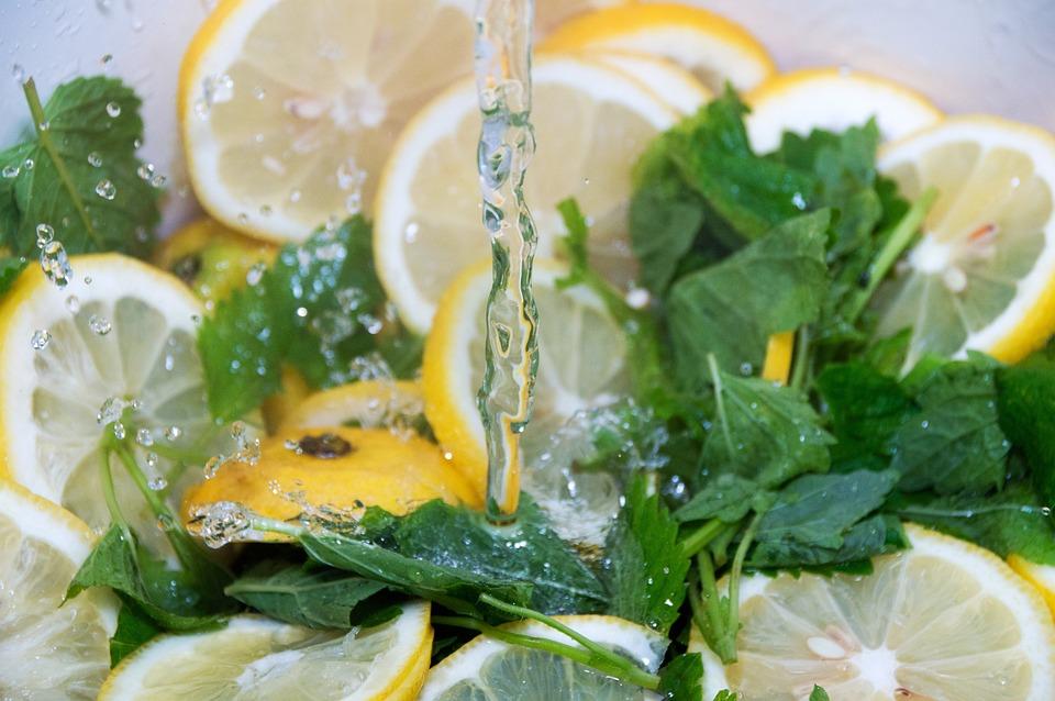Limoni, Balsamo Di Limone, Verde, Melissa, Succo, Cuoco