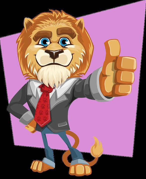 Leeuw, Koning, Dierlijke, Business, Pak, Gelijkspel