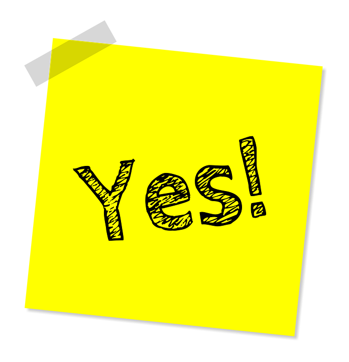 Yes Note Message 183 Free Image On Pixabay