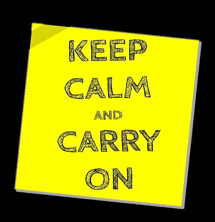 blijf kalm en ga door bericht slogan aanmoediging  sc 1 st  Pixabay & Blijf Kalm En Ga Door Bericht · Gratis afbeelding op Pixabay