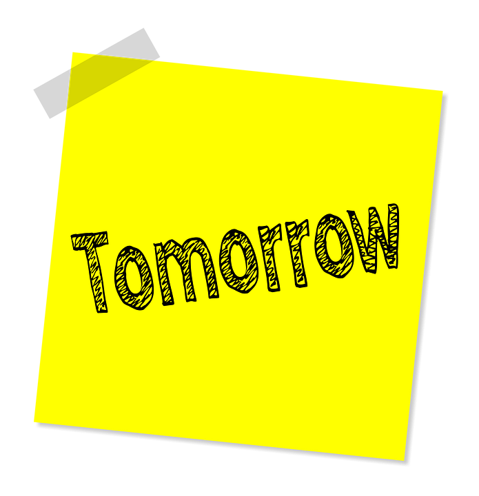 Tomorrow Message Note · Free i...