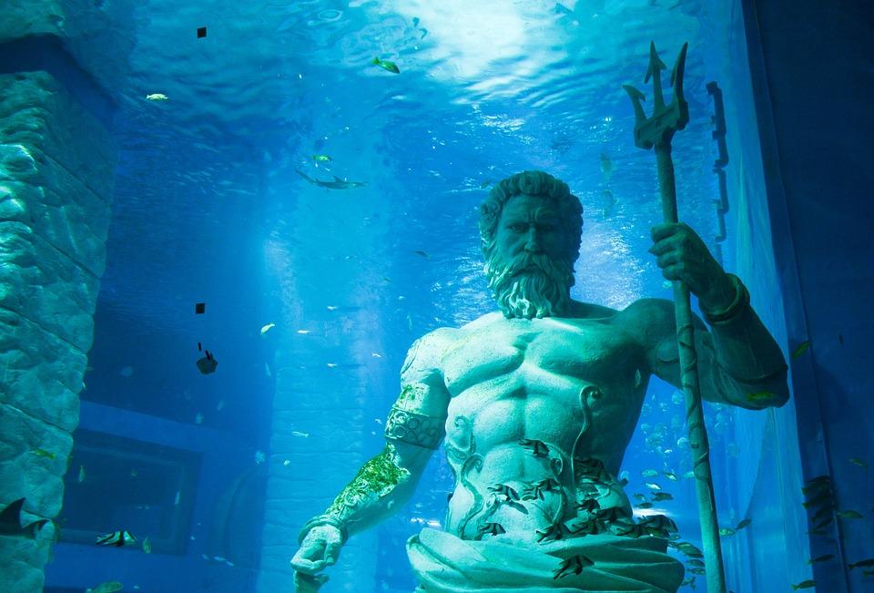 Free photo: Poseidon, Marine, The Sea, Deep Sea - Free ...