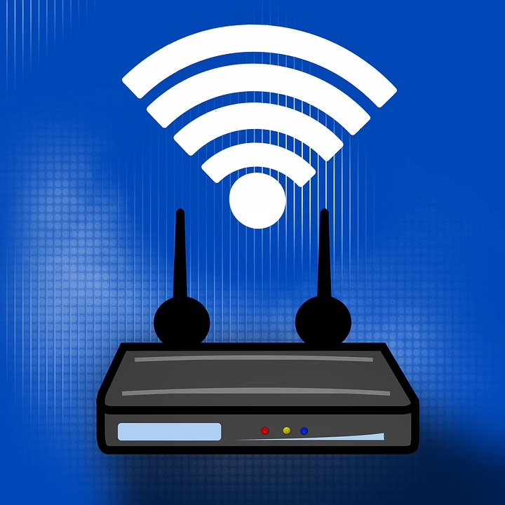 Free Illustration Wlan Router Switch Wireless Free