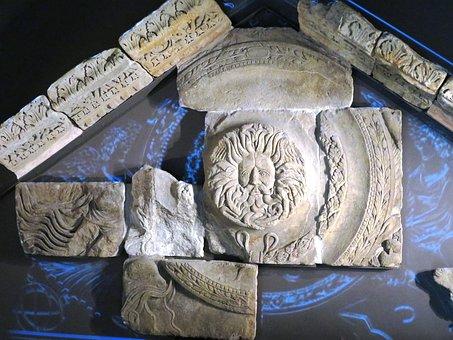 Roman Bath, Relief, Bath In England