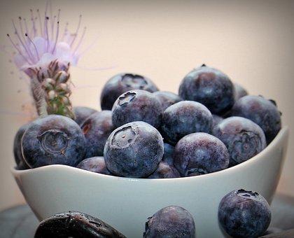 Blueberries, Fruits, Fruit, Vitamins