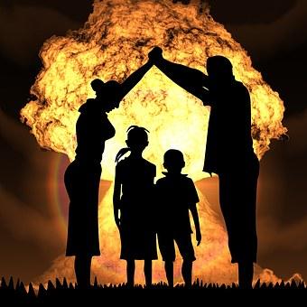Guerra Nuclear, Protección, Sobrevivir