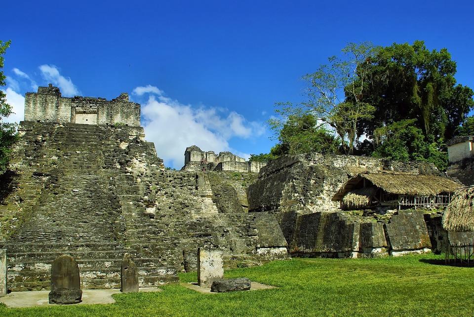 Gwatemala, Tikal, Maya, Cywilizacja, Kolumbijskiej
