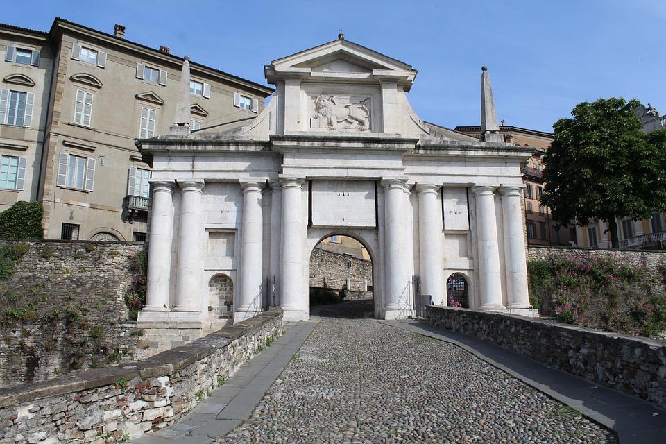 Bergamo, Porta S, Giacomo, Ingresso Città, Città Alta