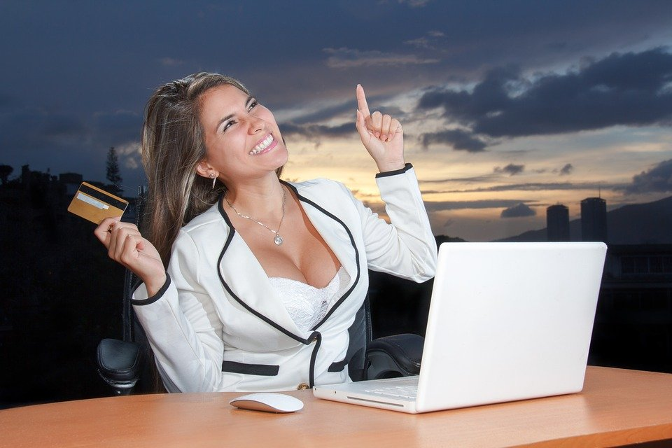 Business, Woman, Attractive, Corporate, Online
