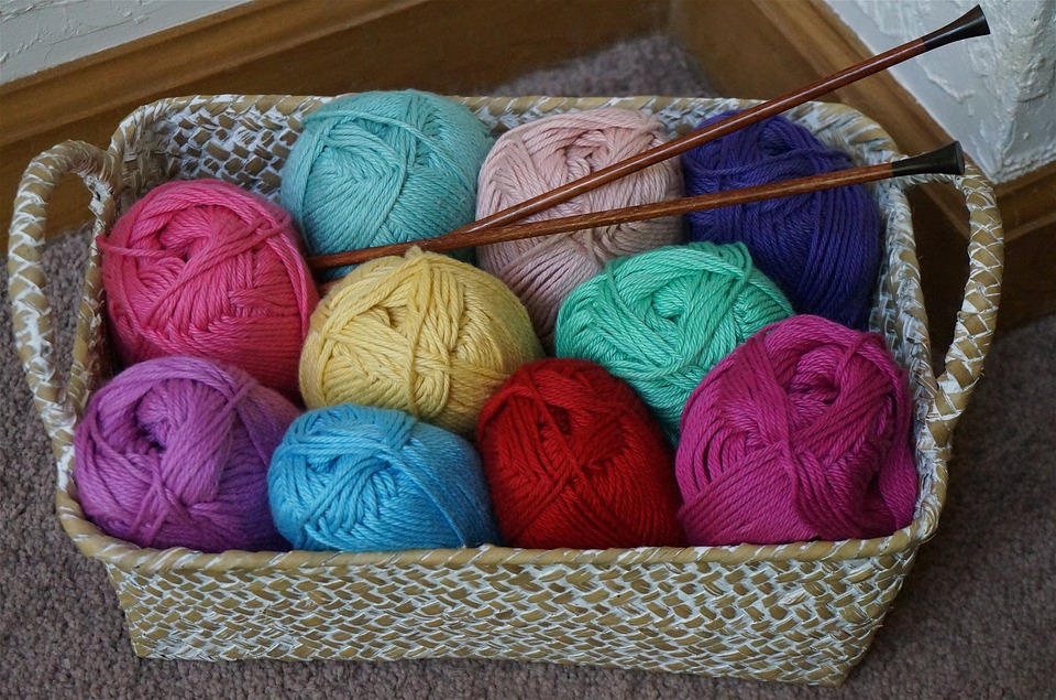 Cotton Baby Yarn, Knitting, Knitting Needles, Yarn