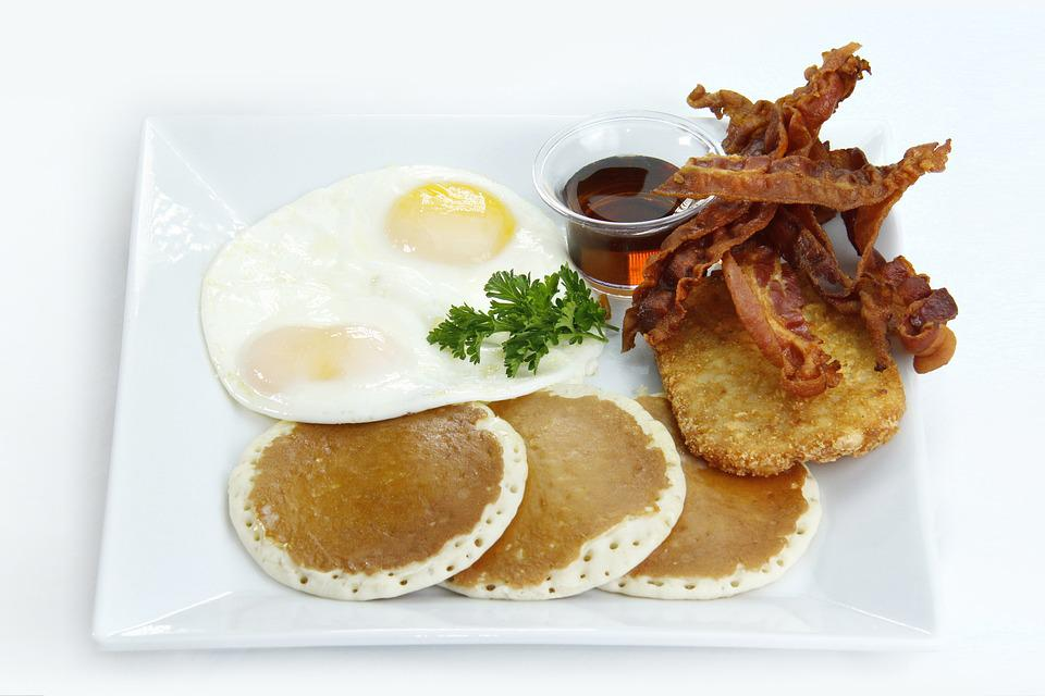 Americká Snídaně, Snídaňové Menu, Vejce, Volské Oko