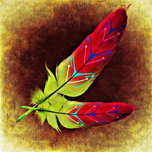 Картинки перьев красивые