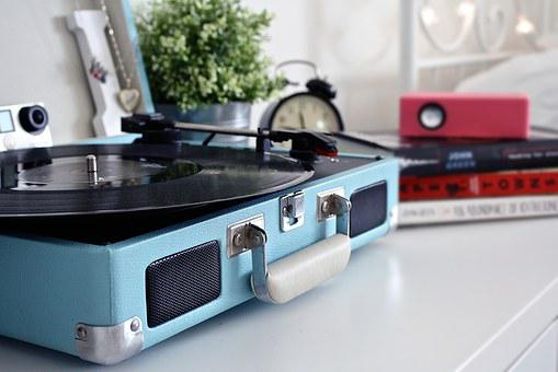 Record, Vintage, Record Player, Music