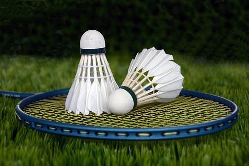 Badminton, Shuttle, Sport, Bat, Racket