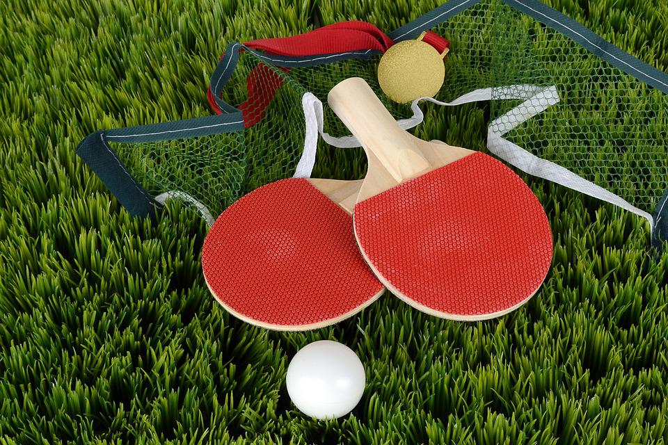 Stolný Tenis, Bat, Stolný Tenis Raketa, Športové, Hrať