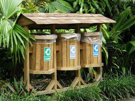 Lixo, Lixeira, Reciclar, Reciclável