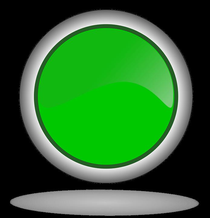 Free illustration green green button button web free - Green button ...