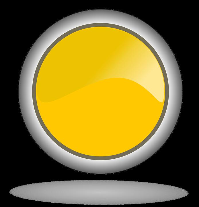 Желтый Желтая Кнопка - Бесплатное изображение на Pixabay