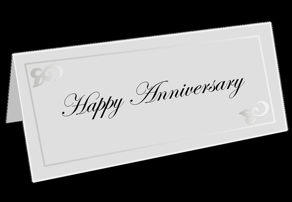 Free illustration Happy Anniversary Card Anniversary Free – Print Free Anniversary Cards