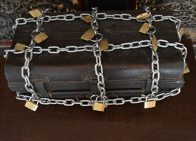Strong Box Chains Locks 183 Free Photo On Pixabay