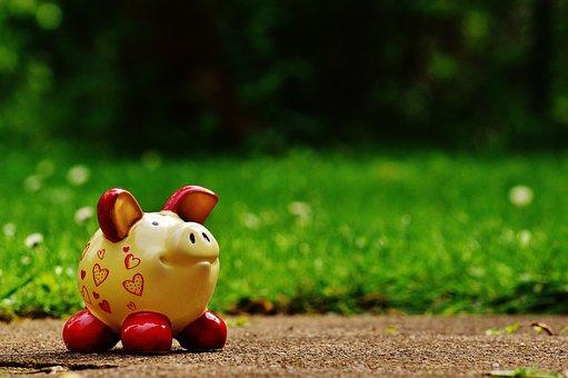 貯金箱, 中心部, おかしい, セラミック, 保存し, 節約銀行, お金