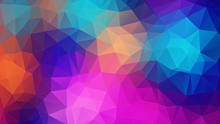 Triangles, Polygon, Color, Pink