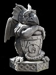 sculpture, gnome, gargoyle