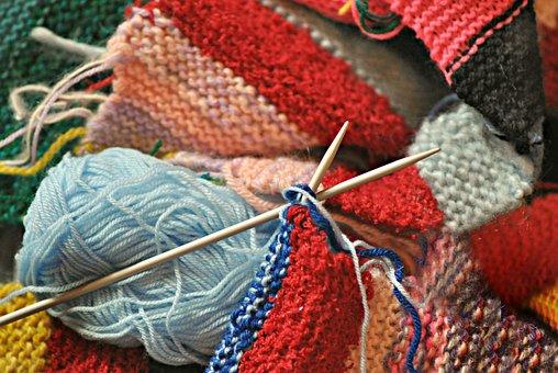 こんな過ごし方編み物をする