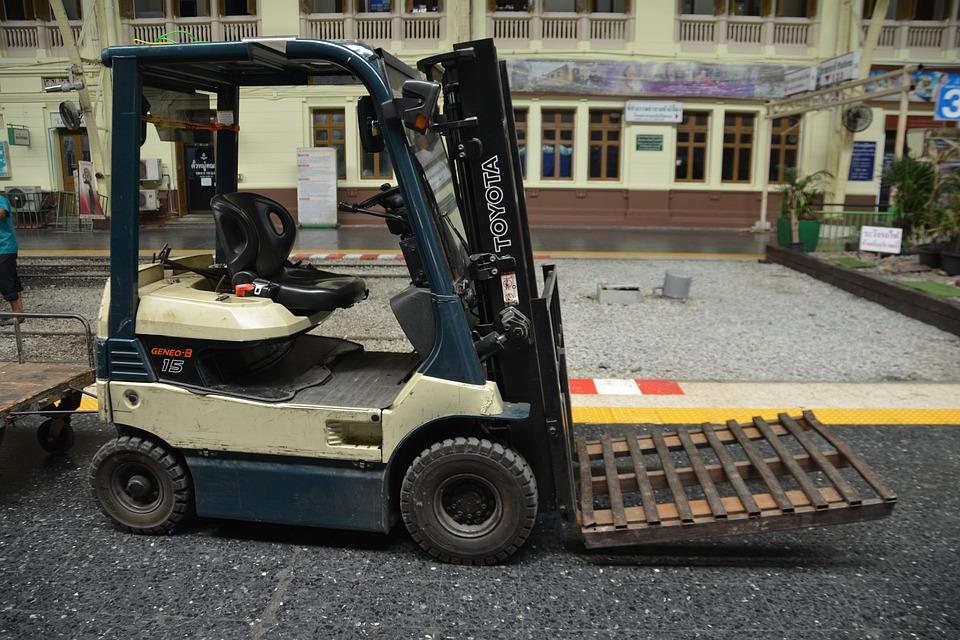 Empilhadeira De Garfo, Caminhão De Garfo, Caminhão