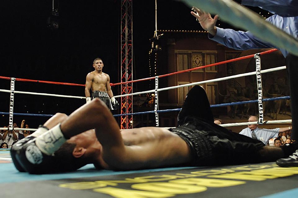 Boxen, Sport, Boxer, Klopfen, Aus, Kämpfer, Stärke