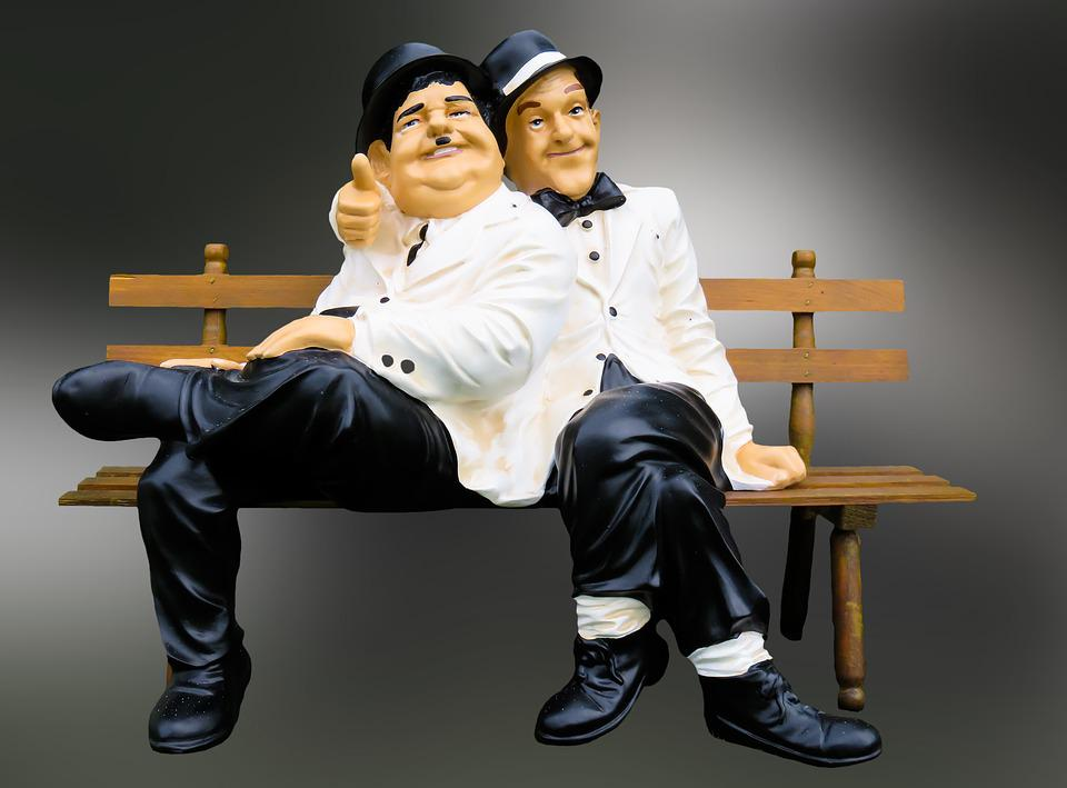 kostenloses foto figuren dick und doof stan laurel. Black Bedroom Furniture Sets. Home Design Ideas