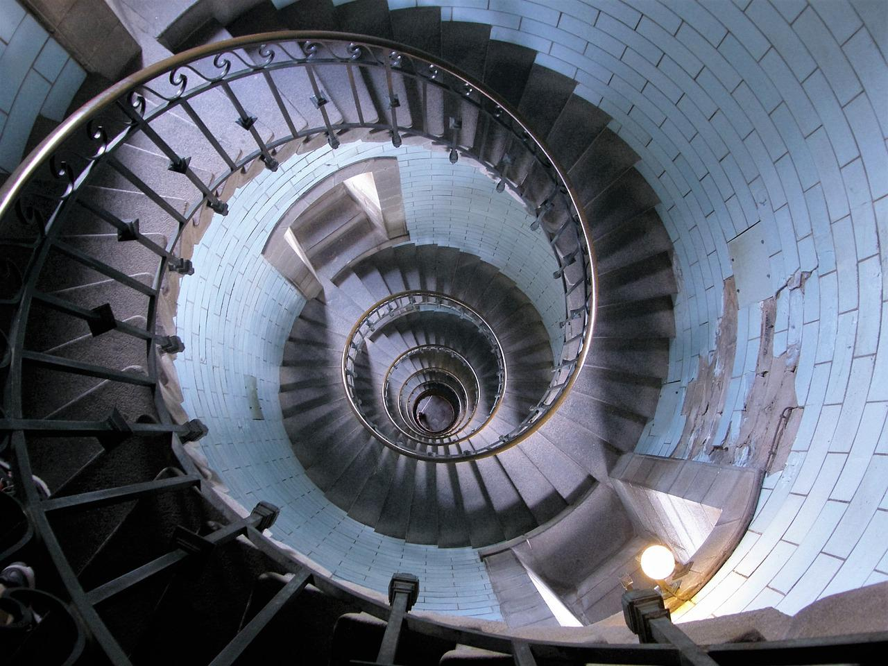 Stairs Lighthouse Spiral Staircase - Free photo on Pixabay