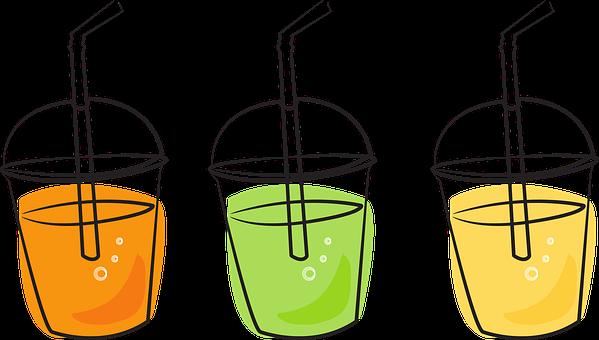 飲料, ジュース, フルーツジュース, 夏, カクテル
