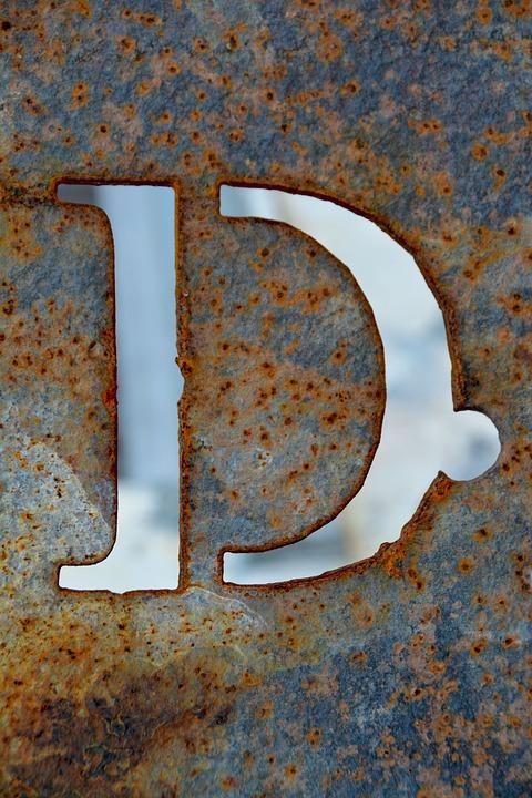 Letter D Alphabet Free Photo On Pixabay