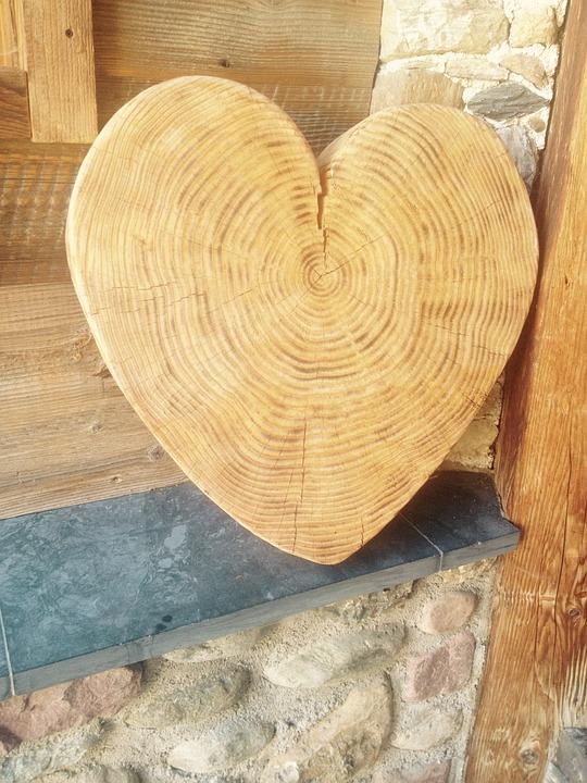 Gratis foto hart hout deco de natuur gratis afbeelding op pixabay 1431266 - Deco hout ...