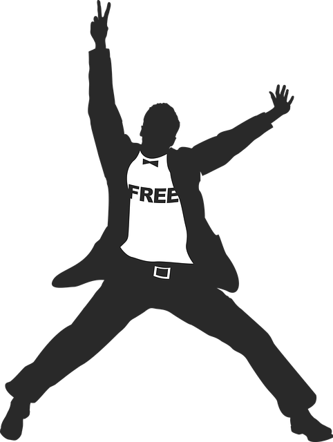 Freedom Man Style 183 Free Vector Graphic On Pixabay