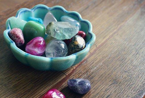 Wertvolle, Steine, Kristalle, Heilung