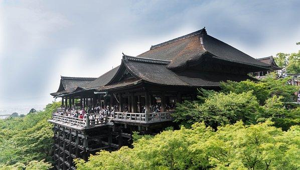 Jepang, Kyoto, Kuil Kiyomizu-Dera, Asia