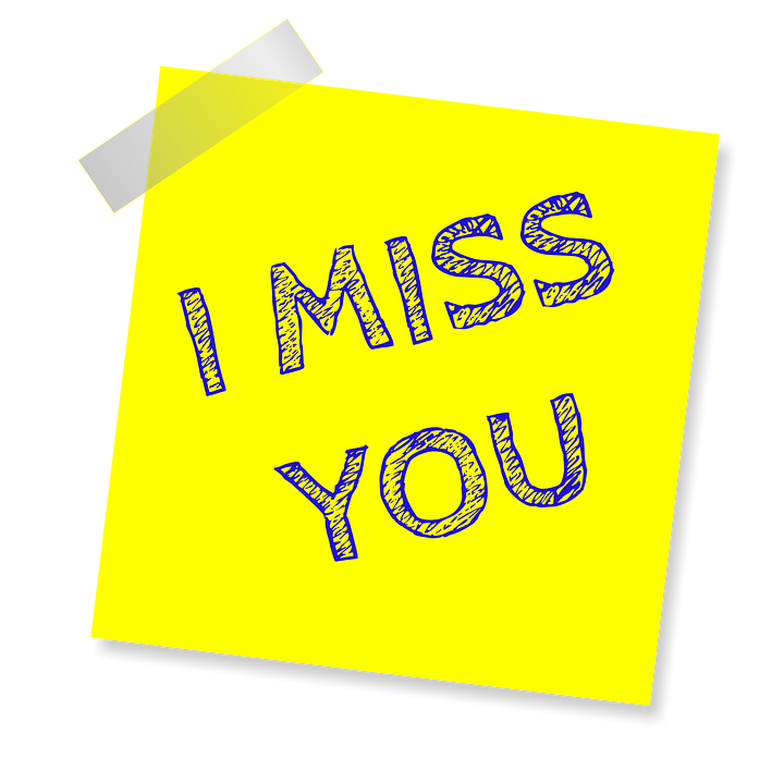 I Miss You Reminder Post Note - Free image on Pixabay