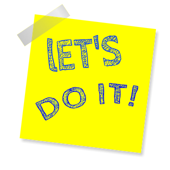 Let'S Do It, Reminder, Post Note