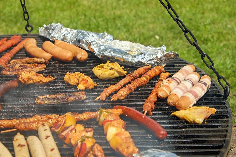 consommation de viande : barbecue