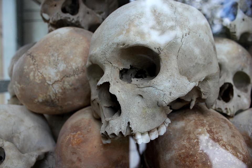 頭蓋骨 大量虐殺 殺人事件 · Pix...