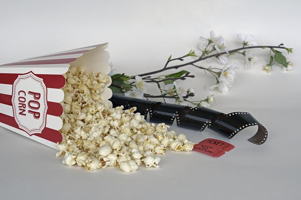 Palomitas De Maíz, Cine, Billete, Película