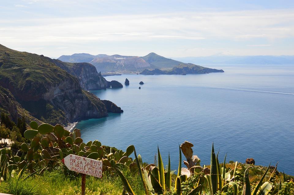 Lipari, Sicilia, Mare, Natura, Costa, Acqua, Sun