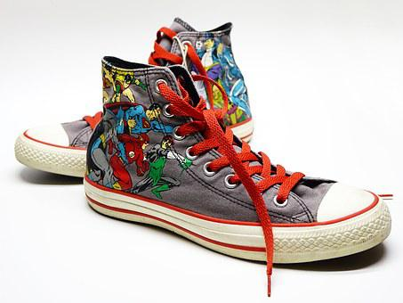 Shoe Canvas Sneakers Casual Converse Super