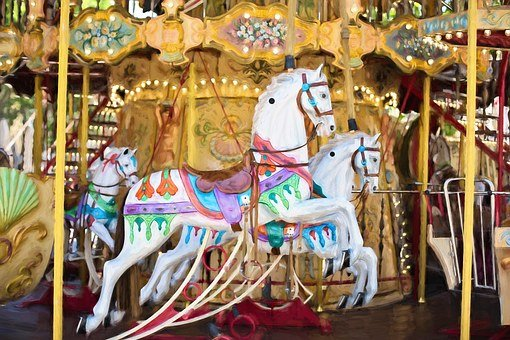 Carousel Horses Carousel Horse Ride Fun Am
