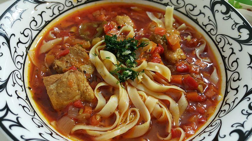 Лагман рецепт как суп