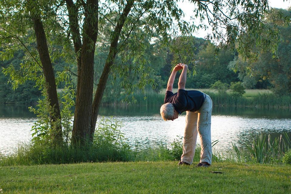 Yoga, Exercice, Sport, Fitness, Bien Être, Lac, Soir